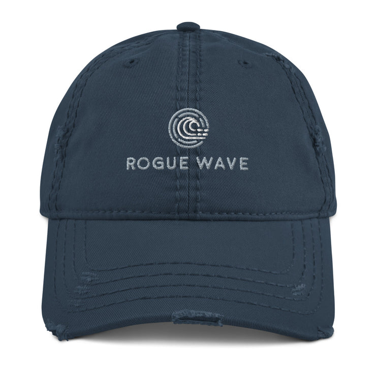 Rogue Wave Distressed Dad Hat