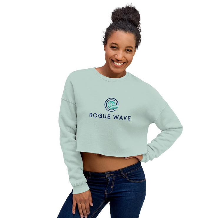 Rogue Wave Crop Sweatshirt