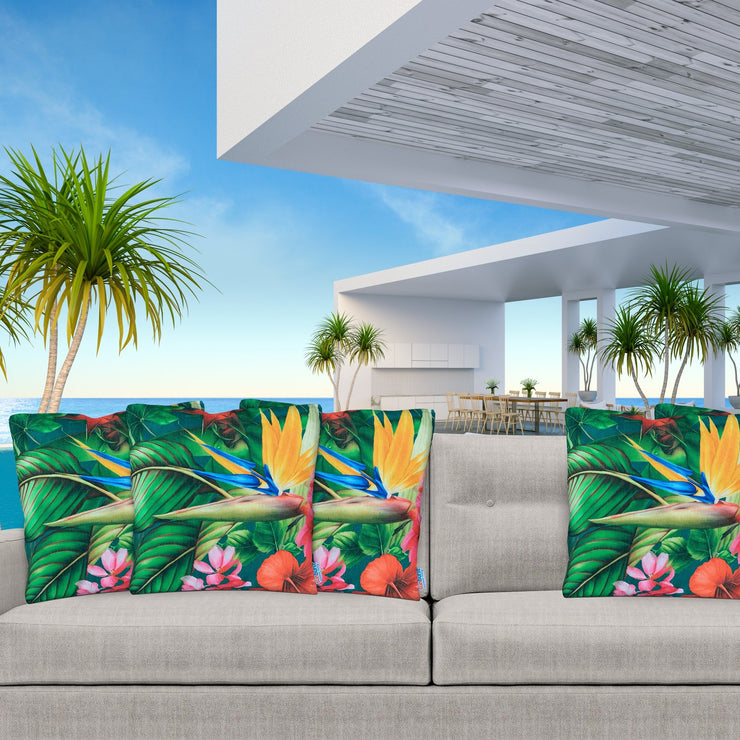 Dazzling Cushion Cover 45cm x 45cm with piping - Sunburst Outdoor Living