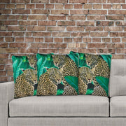 Aligned Cushion Cover 45cm x 45cm with Piping  (Poly-Cotton) - Sunburst Outdoor Living