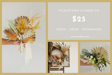 Load image into Gallery viewer, PICKLETOWN FLOWER CO - GIFT CARD