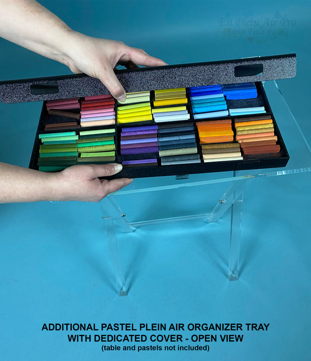 Additional Pastel Organizer Tray with Dedicated Cover