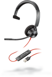 Poly Blackwire 3310 USB Headset