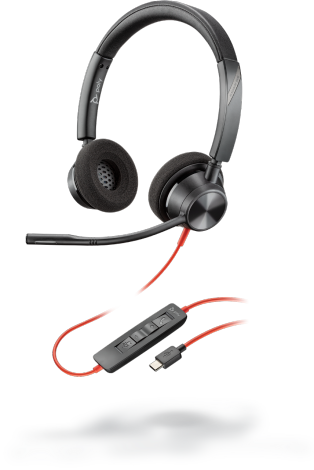 Poly Blackwire 3320 USB Headset