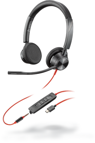 Poly Blackwire 3300 Series USB Headset