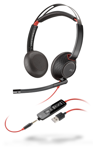 Poly Blackwire 5200 Series Binaural