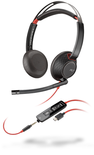 Poly Blackwire 5200 USB Headset