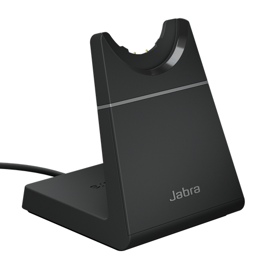 Black Charging Stand for Jabra Evolve2 65