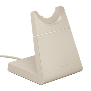 Beige Charging Base for Jabra Evolve2 65