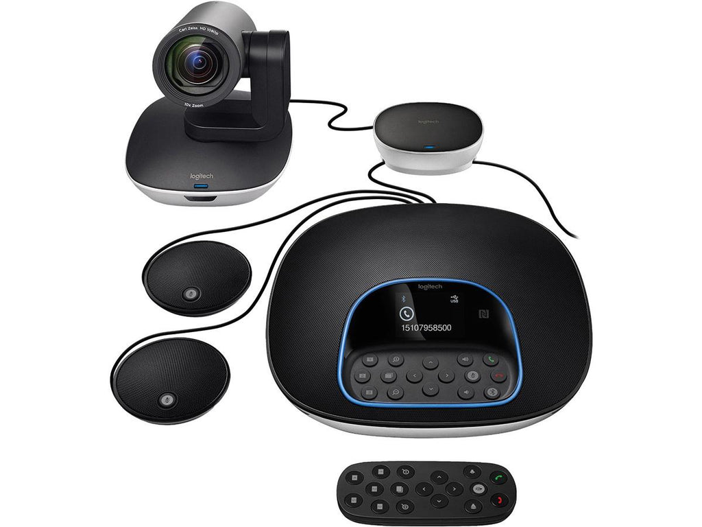 Logitech Group System with Extension Microphones