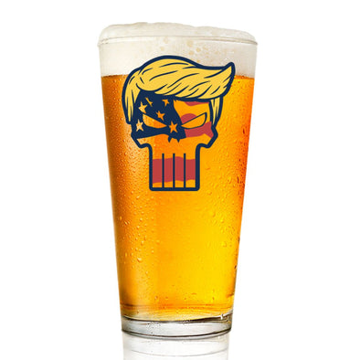 Trump Punisher - Pint Glass