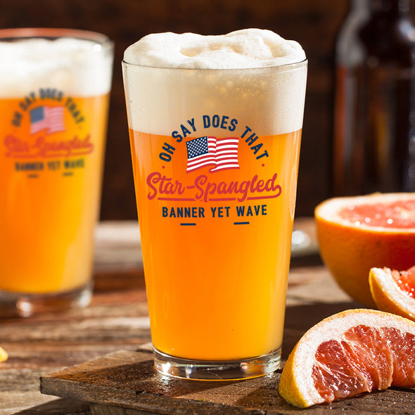 Pint Glass - Star Spangled Banner