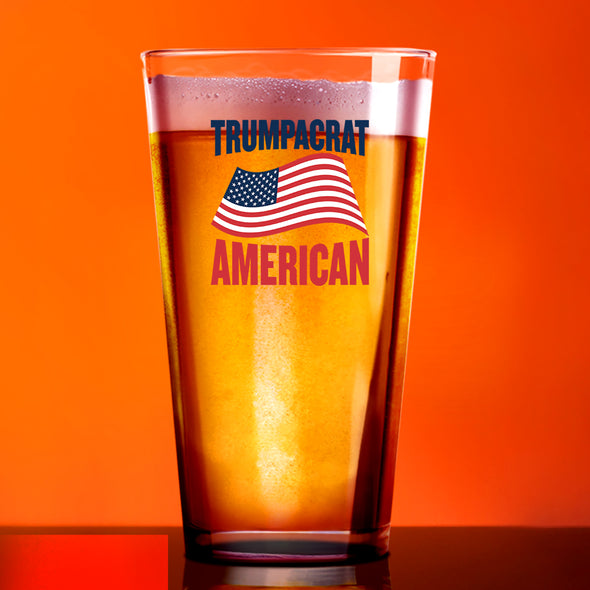 Pint Glass - Trumpacrat