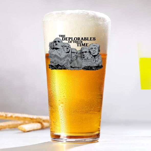 Pint Glass - The Deplorables of Their Time