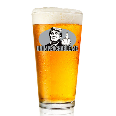 Pint Glass - Unimpeachable Me - Color
