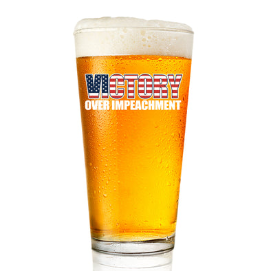 Pint Glass - Victory over Impeachment - Color
