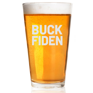 Pint Glass - Buck Fiden