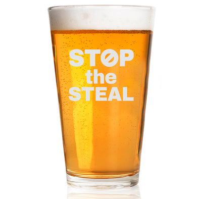 Pint Glass - Stop the Steal