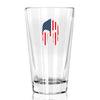 Pint Glass - Molon Labe Mask