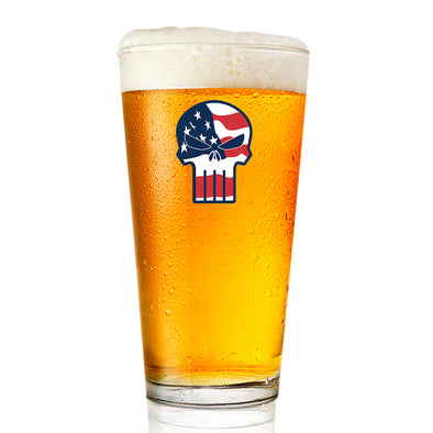 Pint Glass - Punisher - Color
