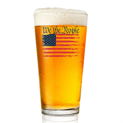 Pint Glass - We The People Color