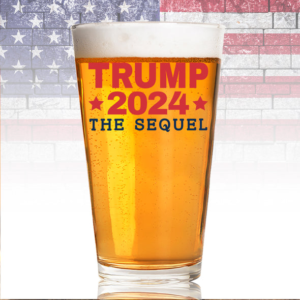 Pint Glass - Trump 2024 the Sequel