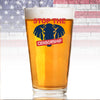 Pint Glass - Stop the Censorship Elephant
