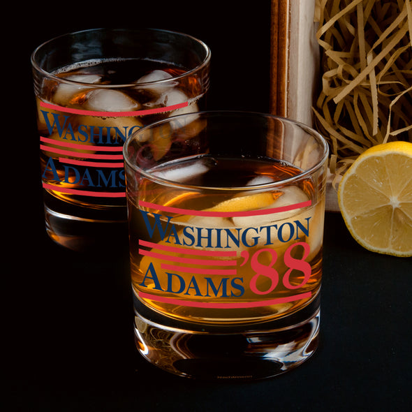 Washington Adams 88 - Whiskey Glass