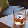 Whiskey Glass - Donald Trump Border Wall Color
