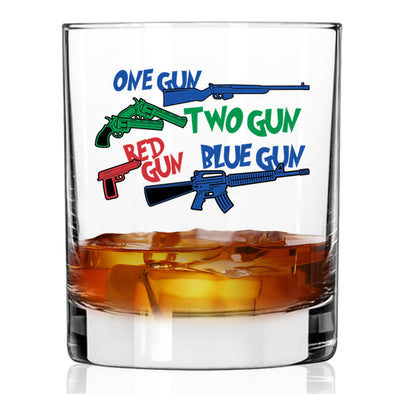 Whiskey Glass - One Gun, Two Gun