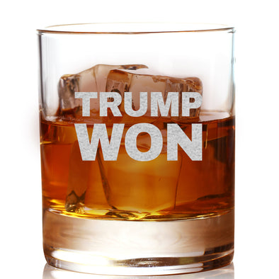 Whiskey Glass - Trump Won
