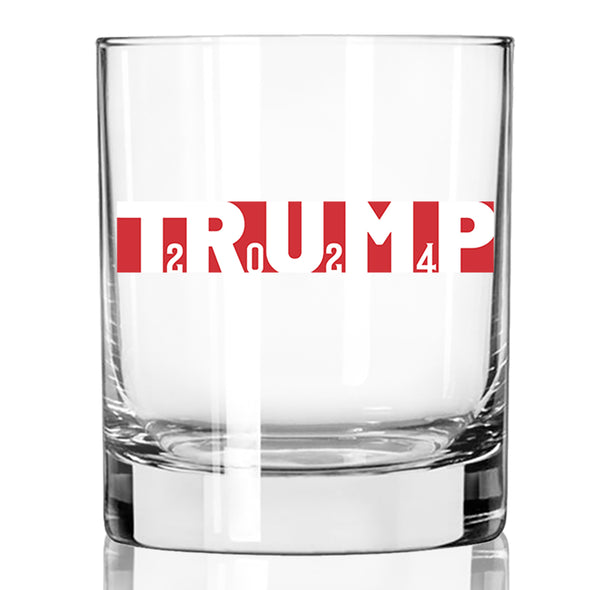 Whiskey Glass - Trump 2024 Full Wrap