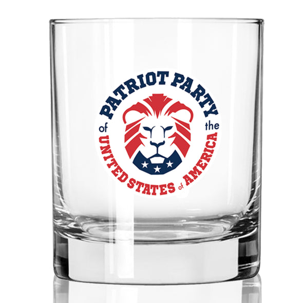 Patriot Party Lion - Whiskey Glass