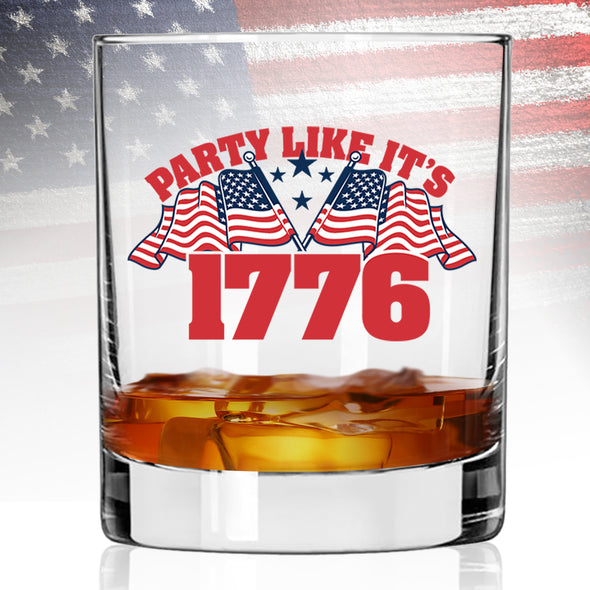 Whiskey Glass - Party Like It's 1776