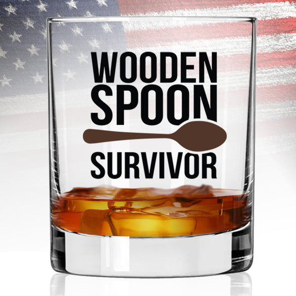 Whiskey Glass - Wooden Spoon Survivor