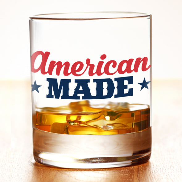 American Made - Whiskey Glass