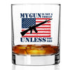 Whiskey Glass - Gun is Not a Threat Color
