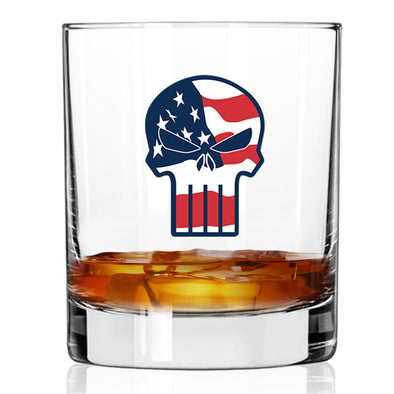 Whiskey Glass - Punisher - Color