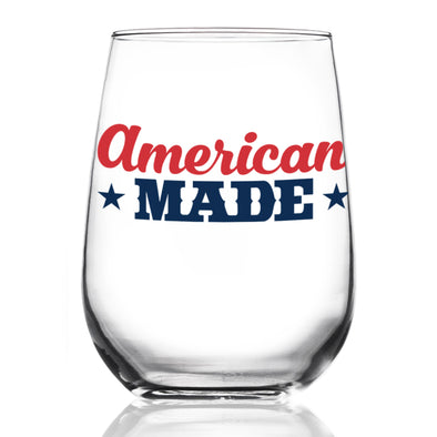 American Made - Wine Glass