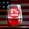 Wine Glass - 0% Liberal Color