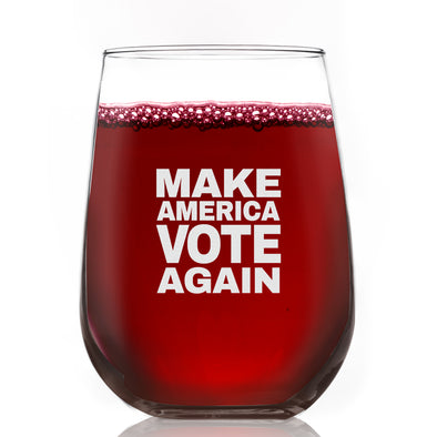 Wine Glass - Make America Vote Again