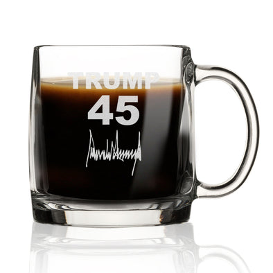 Trump 45 With Signature - Nordic Mug