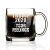 Trump 2020 Screw Your Feelings Figure - Nordic Mug