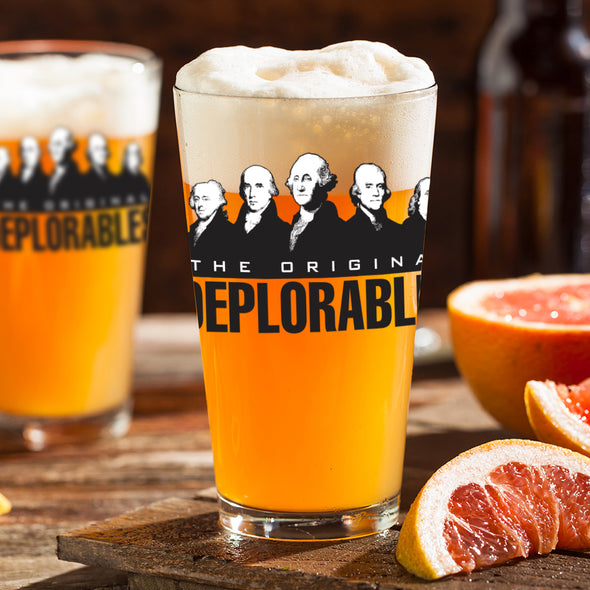Pint Glass - The Original Deplorables