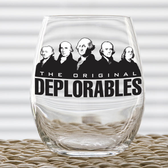 Wine Glass - The Original Deplorables