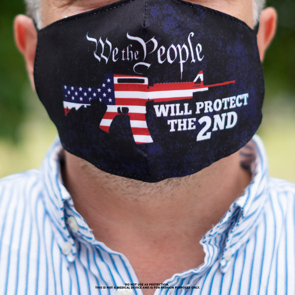 We the People will Protect the 2nd Mask