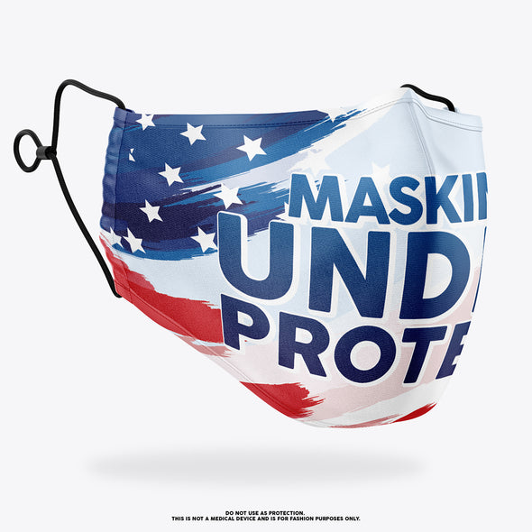 Masking Under Protest Mask