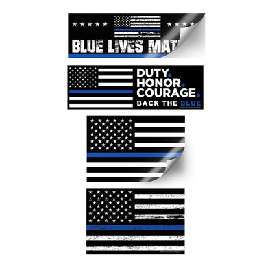 Blue Lives Sticker Pack