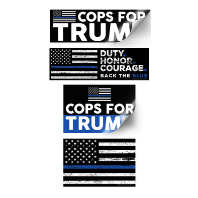 Trump Cop Sticker Pack