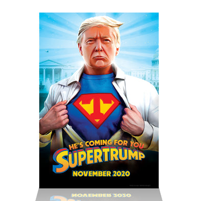 Supertrump Limited Edition Poster